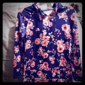 New W/O tags floral sweatshirt.